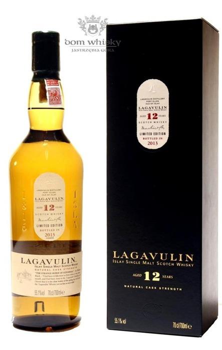 Lagavulin 12-letni Cask Strength, 2013 Release /55,1%/0,7l