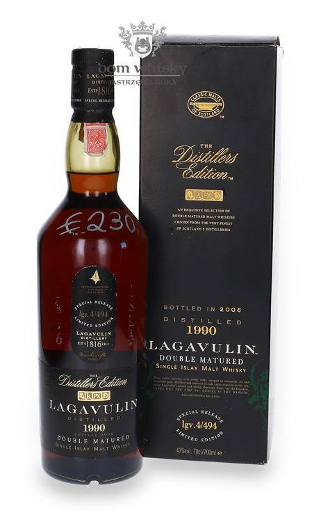 Lagavulin 1990 Distillers Edition (Bottled 2006) /43%/0,7l