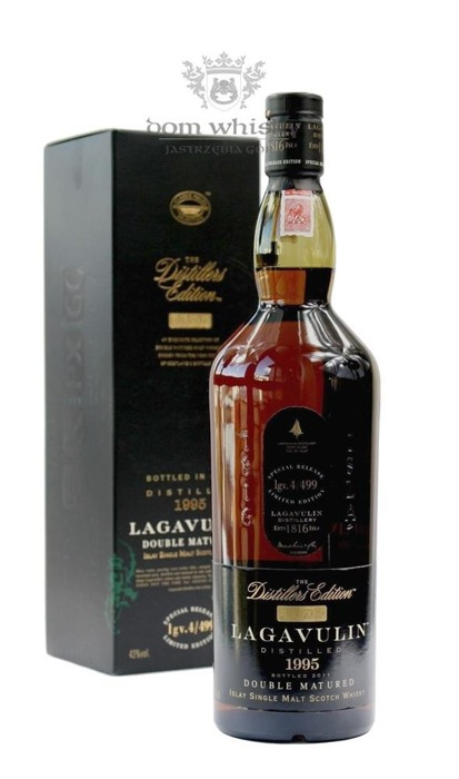 Lagavulin 1995 Distillers Edition (Bottled 2011) /43%/1,0l