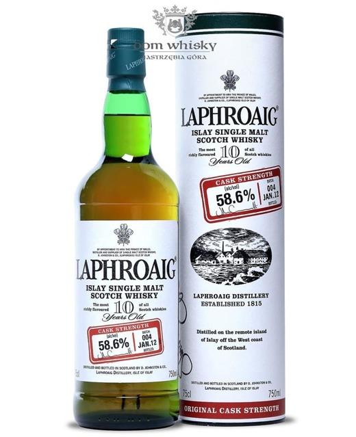 Laphroaig 10-letni Cask Strength Batch 004 / 58,6% / 0,75l