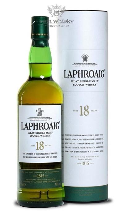 Laphroaig 18-letni /48%/0,7l