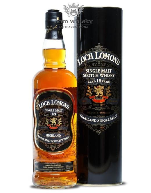 Loch Lomond 18-letni /43%/0,7l