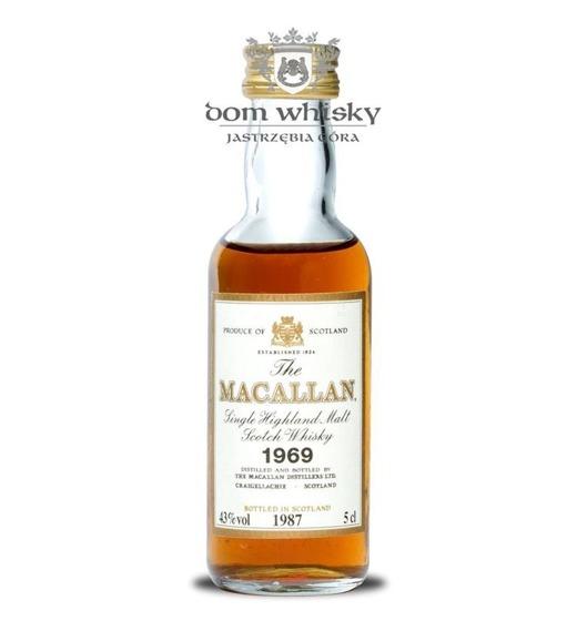 Macallan 18 letni D.1969 B.1987 / 43% / 0,05l