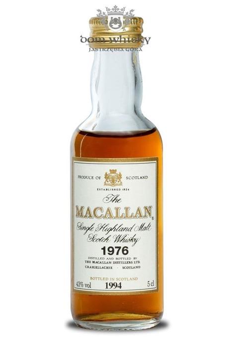 Macallan 18 letni D.1976 B.1994 / 43% / 0,05l