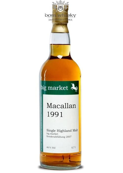 Macallan 1991 (Bottled 2007) Big Market /40%/0,7l