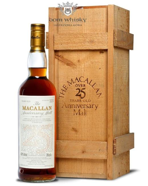 Macallan 25-letni Anniversary Malt (D.1971, B.1997) /43%/0,7l