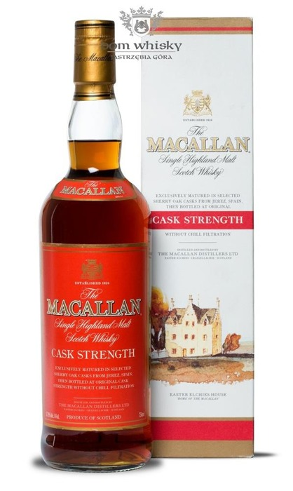 Macallan Cask Strength /57,8%/0,75l