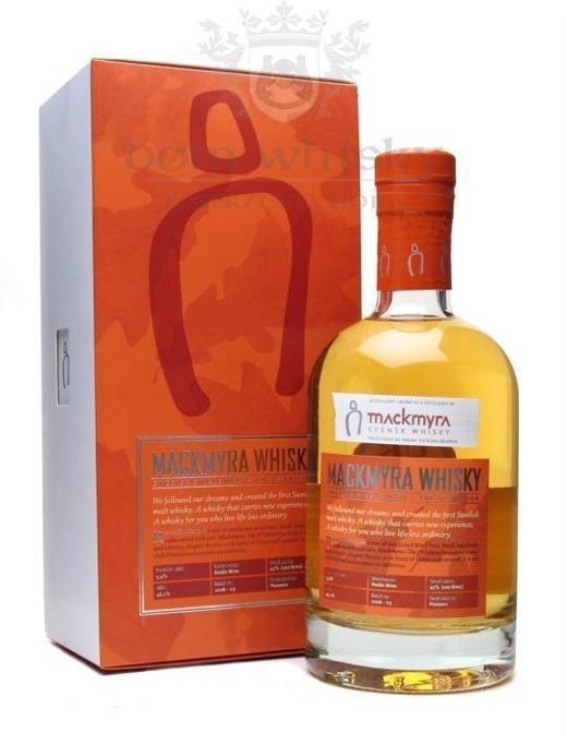Mackmyra Malt First Edition Whisky (Szwecja) / 46,1% / 1,0l