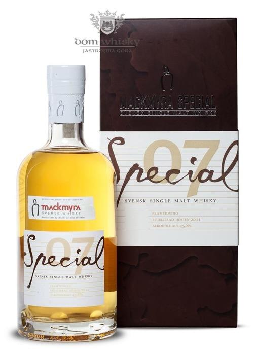 Mackmyra Special 07 (Szwecja) / 45,8% / 0,7l