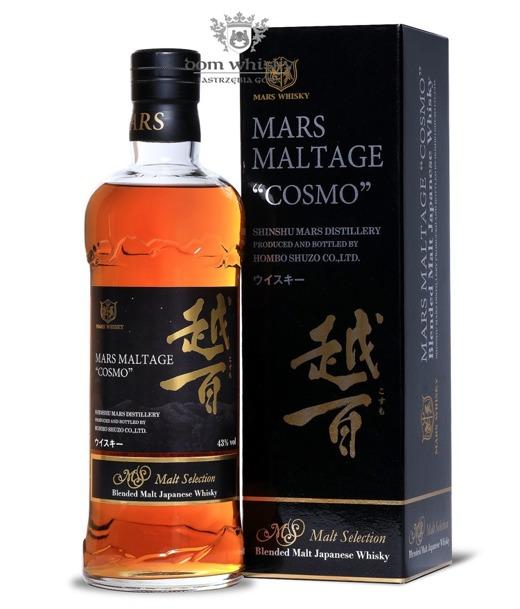 Mars Maltage Cosmo (Shinshu Mars Distillery) / 43% / 0,7l