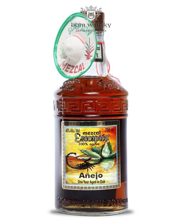 Mezcal Scorpion Anejo 100% Agave / 40% / 0,7l