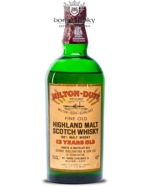 Milton-Duff-Glenlivet 13-letni Highland Malt Whisky / 43% /0,75l