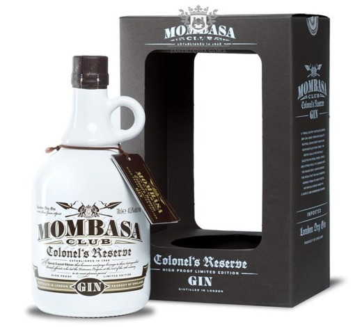 Mombasa Club Colonels Reserve London Dry Gin / 43,5% / 0,7l