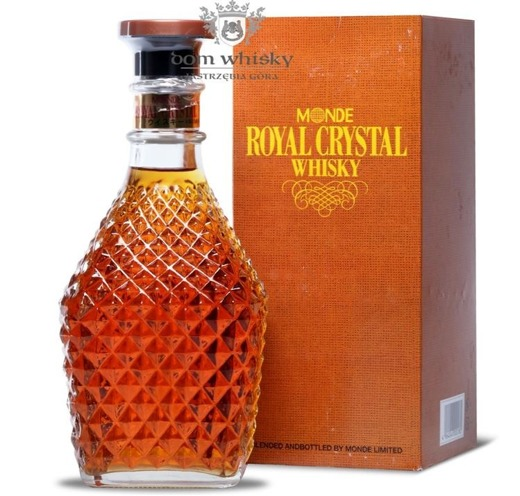 Monde Royal Cristal Decanter Blended Whisky / 40% / 0,72l