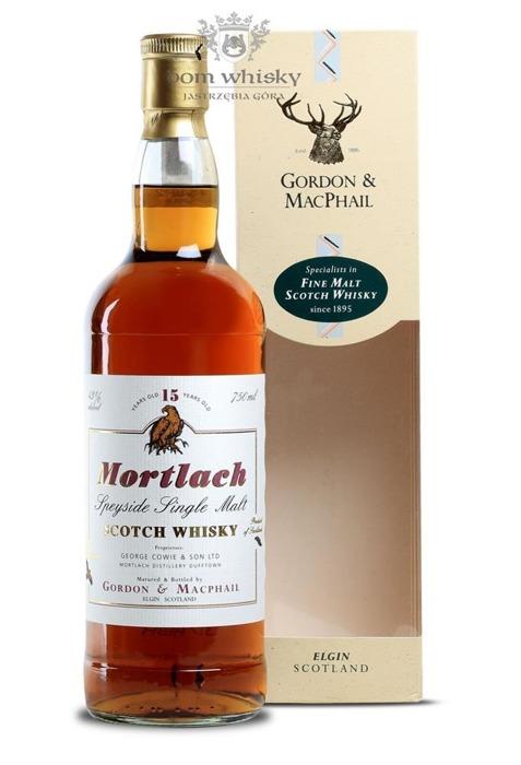 Mortlach 15-letni Gordon & MacPhail / 43%/ 0,75l