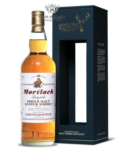 Mortlach 21-letni, Gordon & MacPhail / 43% / 0,7l