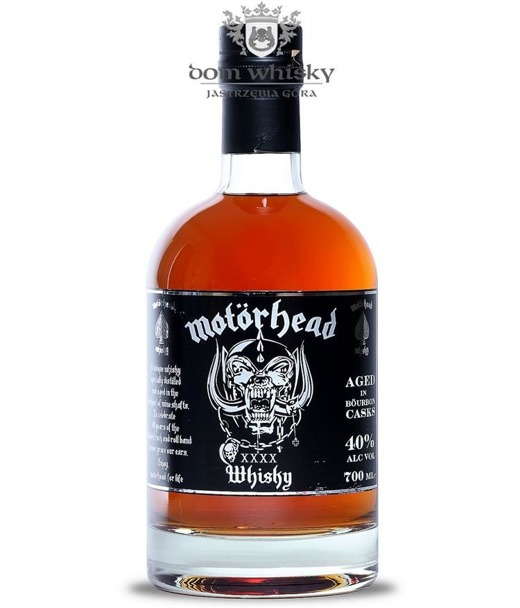 Motörhead Single Malt XXXX (Mackmyra) / 40% / 0,7l
