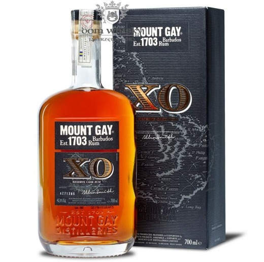 Mount Gay Extra Old X.O. Rum (Barbados) / 43% / 0,7l