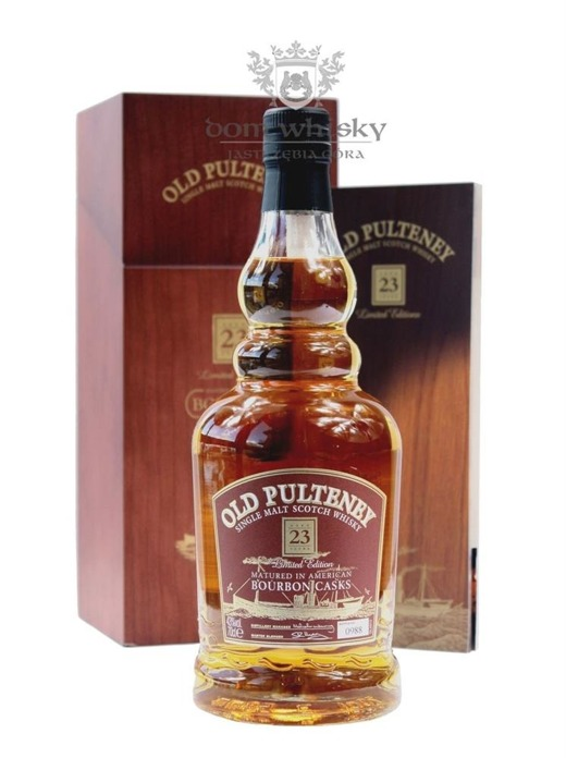 Old Pulteney 23-letni Matured in Bourbon Casks / 43%/ 0,7l