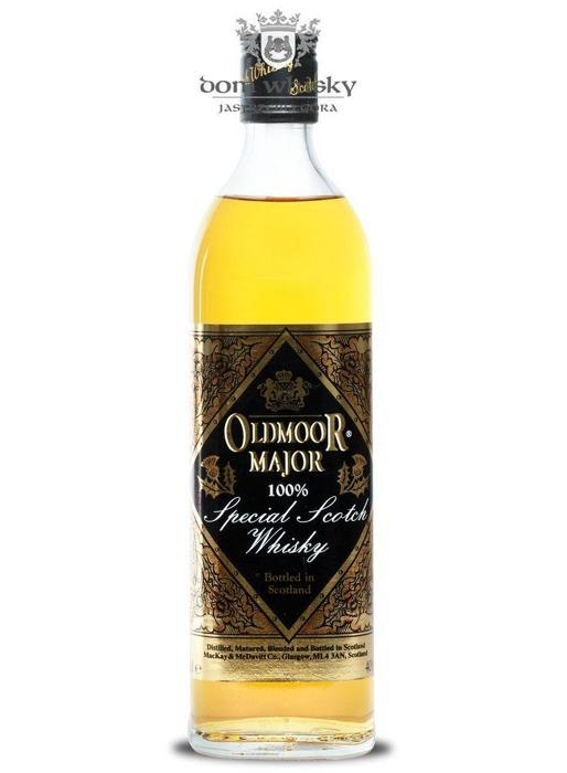 Oldmoor Major Blended Scotch Whisky / 40% / 0,7l