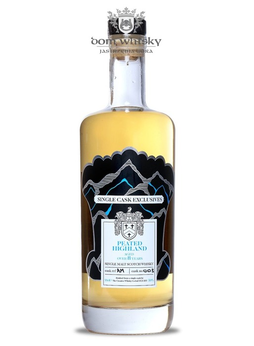 Peated Highland 8-letni, Single Cask Creative Whisky Co. / 50% / 0,7l