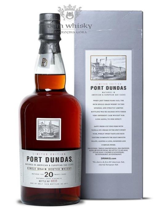 Port Dundas 20-letni Special Release (D.1990, B.2011) / 57,4%/ 0,7l