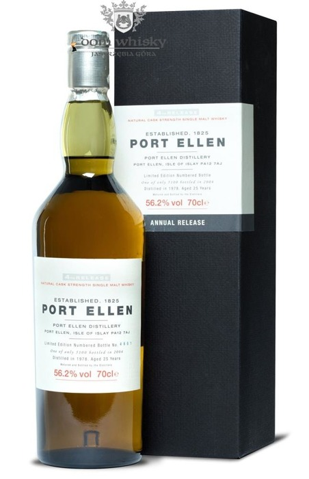 Port Ellen 25-letni D.1978 B.2004 4th Release / 56,2% / 0,7l