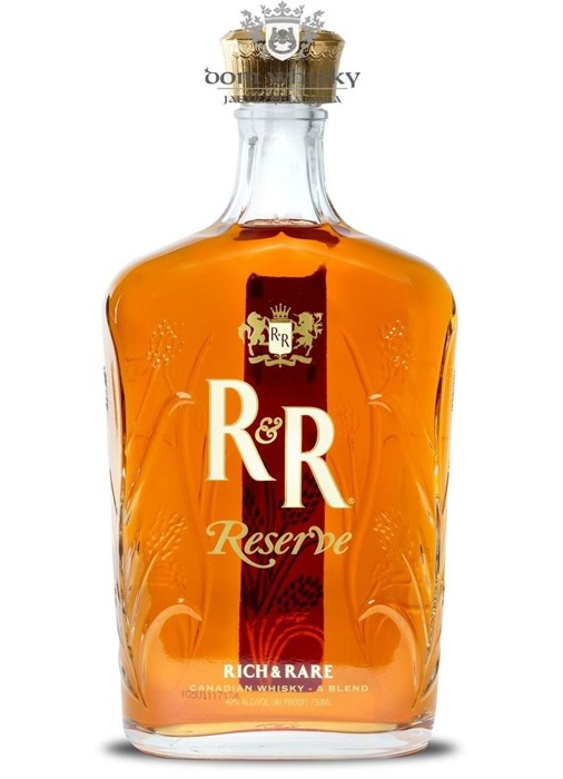 R&R Reserve Canadian Whisky / 40% / 0,75l