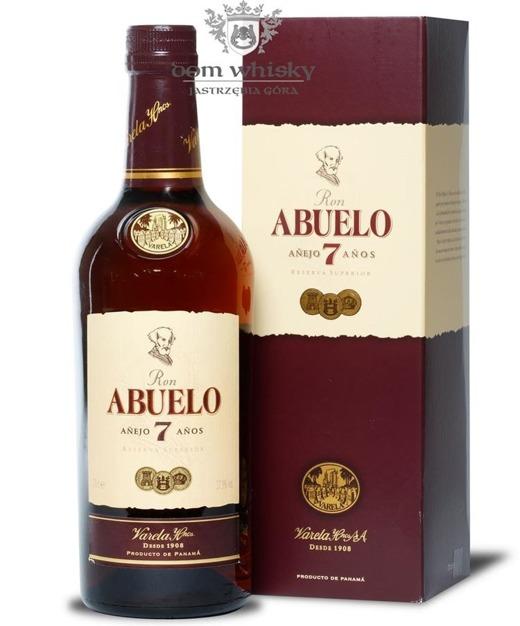 Ron Abuelo 7-letni Rum /Panama/ 37,5% / 0,7l