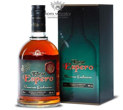 Ron Espero Reserva Exclusiva / Domonicana / 40% / 0,7l