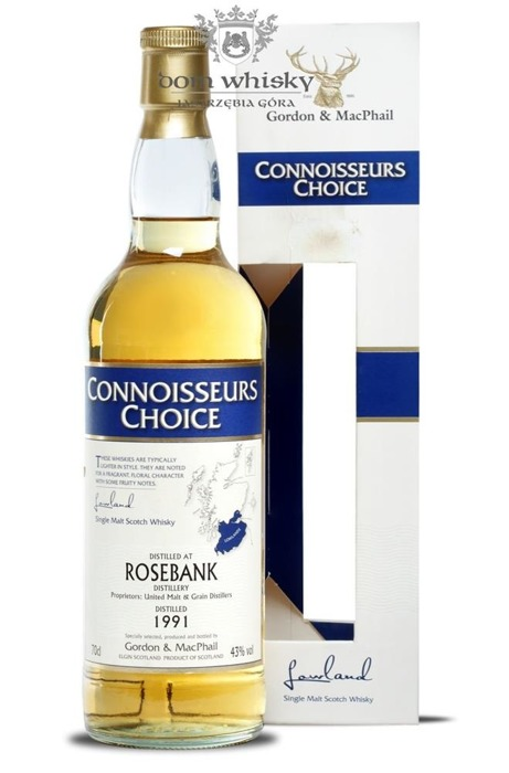 Rosebank 1991 (Bottled 2008) Connoisseurs Choice / 43% / 0,7l