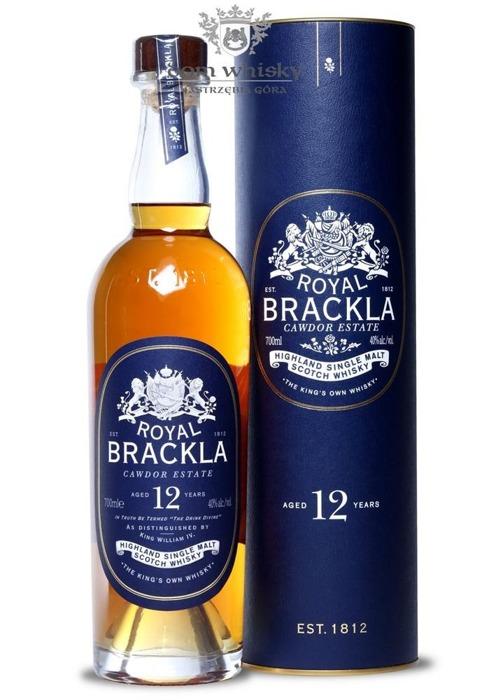 Royal Brackla 12-letnia (Bottled 2015) /40%/0,7l