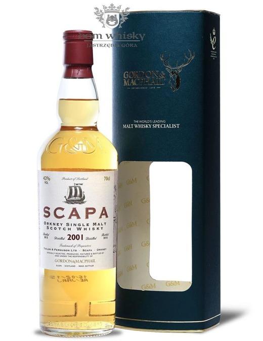 Scapa 2001 (Bottled 2015) Gordon & MacPhail / 43%/ 0,7l
