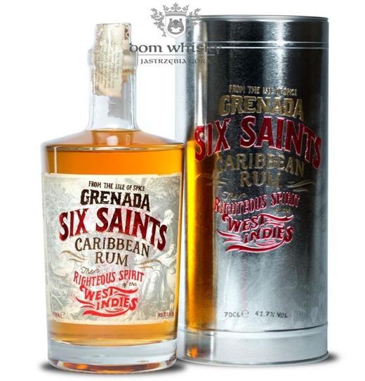Six Saints Caribbean Rum / Grenada / 41,7% / 0,7l