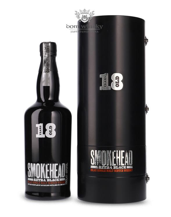 Smokehead Extra Black 18 letni / 43% / 0,7l