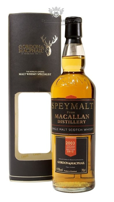 Speymalt from Macallan Distillery (D.2003, B.2012) G&M /43%/0,7l