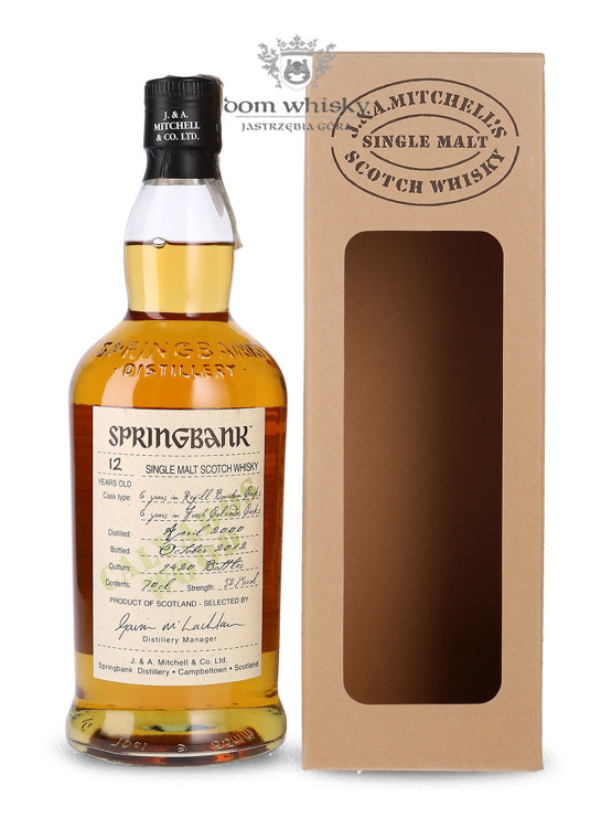 Springbank 12 letni Calvados Wood / 52,7% / 0,7l
