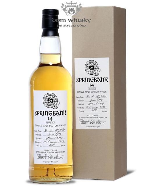 Springbank 14-letni (D.1992 B.2007) Bourbon Cask / 55,3% / 0,7l