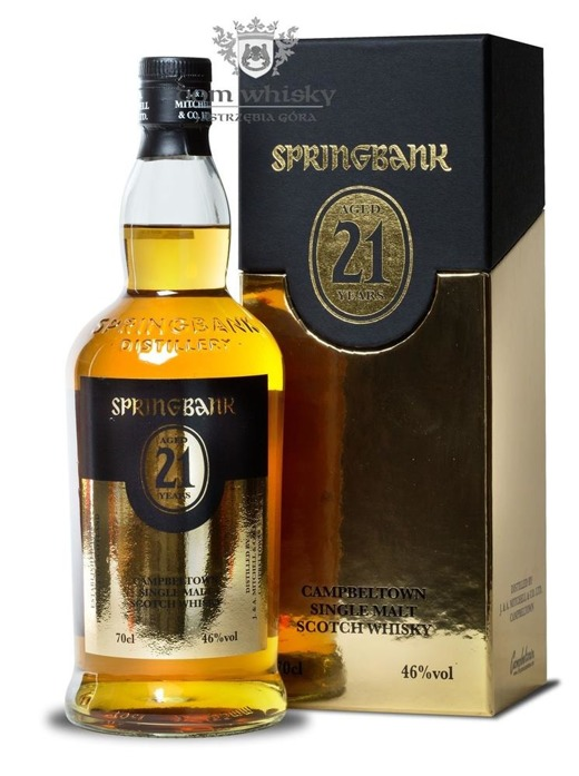 Springbank 21 letni / 46% / 0,7l