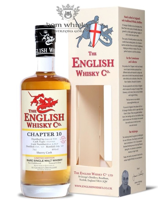 St. George's Distillery Chapter 10, Serry Cask / 46% / 0,7l