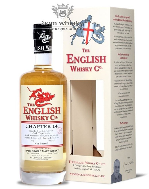 St. George's Distillery Chapter 14, Not Peated / 46% / 0,7l