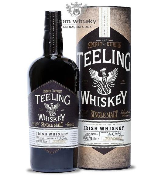 Teeling Irish Whiskey Single Malt / 46% / 0,7l
