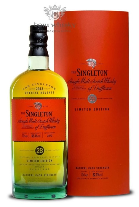 The Singleton of Dufftown 28-letni (D.1985, B.2013) /52,3%/0,7l