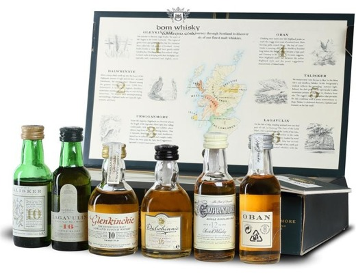 The Six Classic Malts From The Six Classic Regions I / 6 x 0,05l
