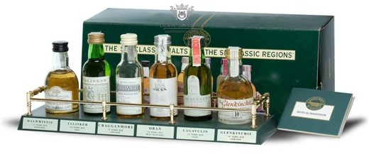 The Six Classic Malts From The Six Classic Regions II / 6 x 0,05