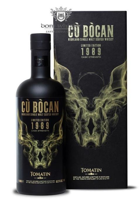 Tomatin 25 letni Cu Bocan 1989 Limited edition / 53,2% / 0,7l