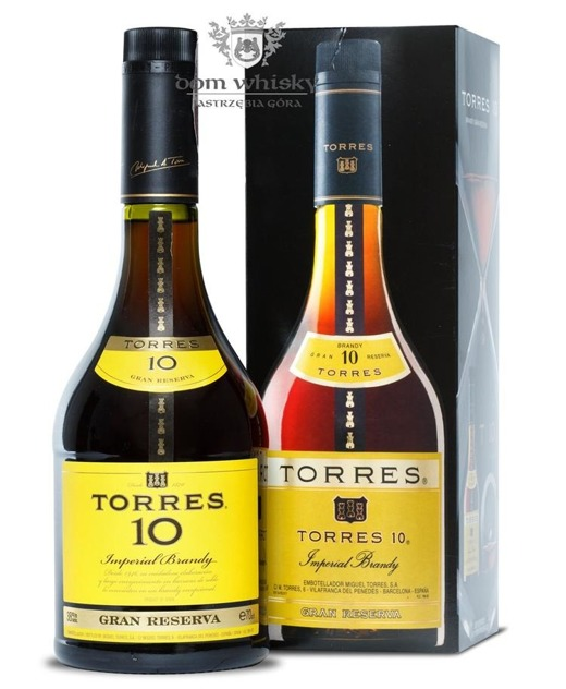 Torres 10-letni Brandy / 38% / 0,7l