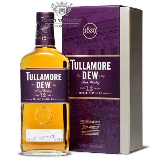 Tullamore Dew 12-letni Triple Distillled Special Reserve/40%/0,7
