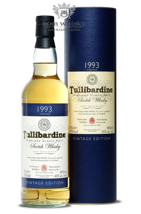 Tullibardine D.1993 B.2011 / 40% / 0,7l