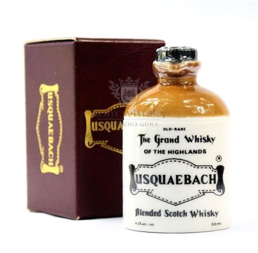 Usquaebach Blended Whisky Porcelana / 43% / 0,05l